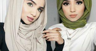 صوره طرق لف الحجاب , تعرف على احدث طرق لف الحجاب