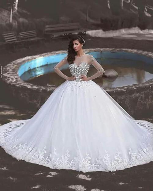 بالصور صور بدلات اعراس , احدث واجمل تصاميم لبدلات الاعراس 407 1