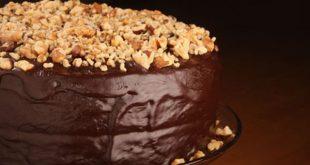 صوره طريقة تزيين كيكة الشوكولاته , اسهل طرق لتزيين كيكه الشوكولاته