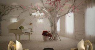 بالصور اشكال ورق جدران , ورق ملون و اشكال رائعه من الورق لحائط منزلك 5110 12 310x165