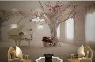 صوره اشكال ورق جدران , ورق ملون و اشكال رائعه من الورق لحائط منزلك