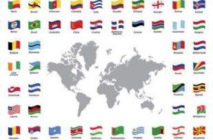 بالصور اسماء جميع دول العالم , تعرف علي اسماء دول العالم اجمع و شكل اعلامهم 5219 9 310x205