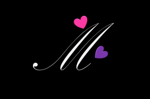 صور خلفيات حرف m , صور جميله لحرف m