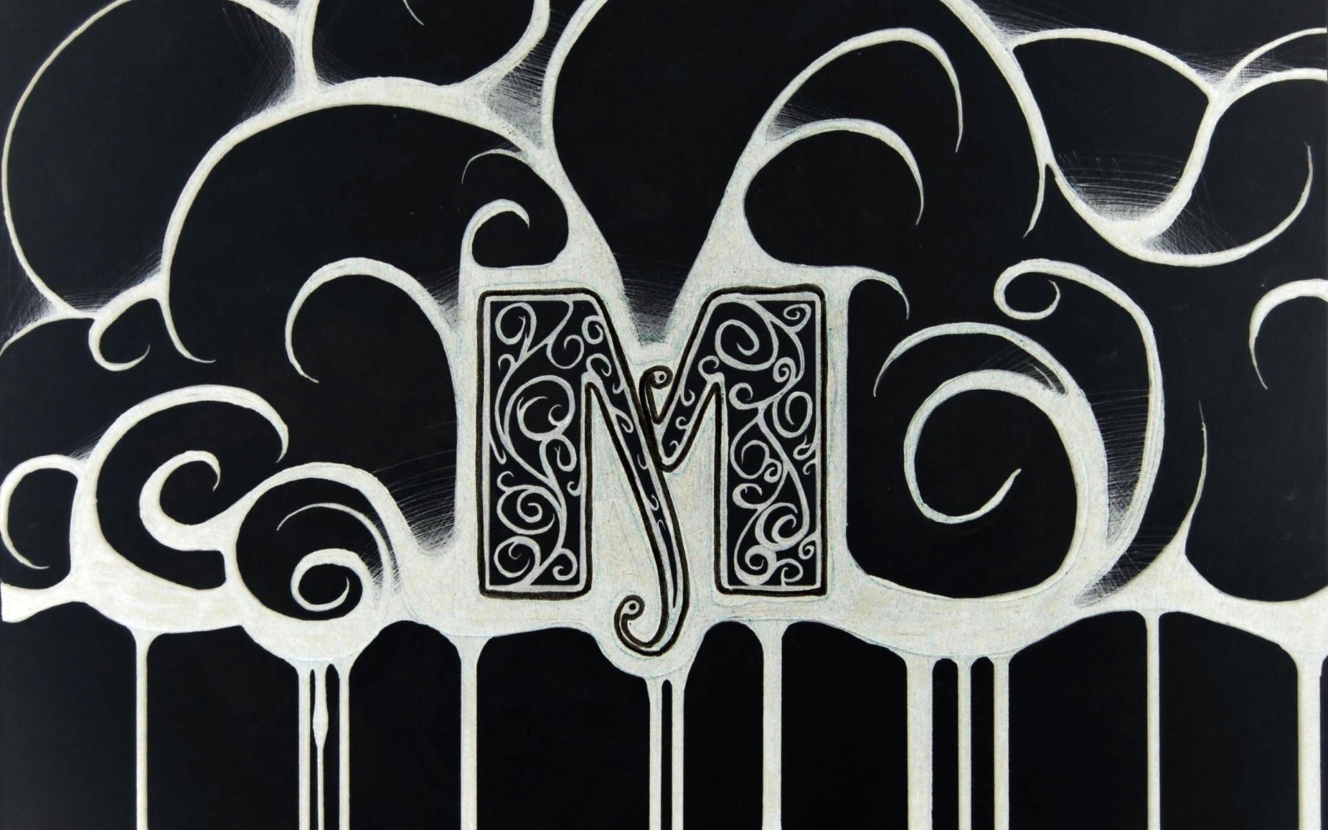 صوره خلفيات حرف m , صور جميله لحرف m