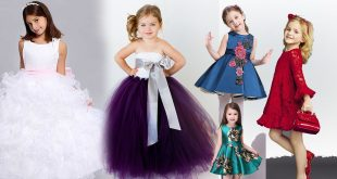 صوره صور فساتين اطفال , اجمل تشكيله فساتين خاصه للاطفال