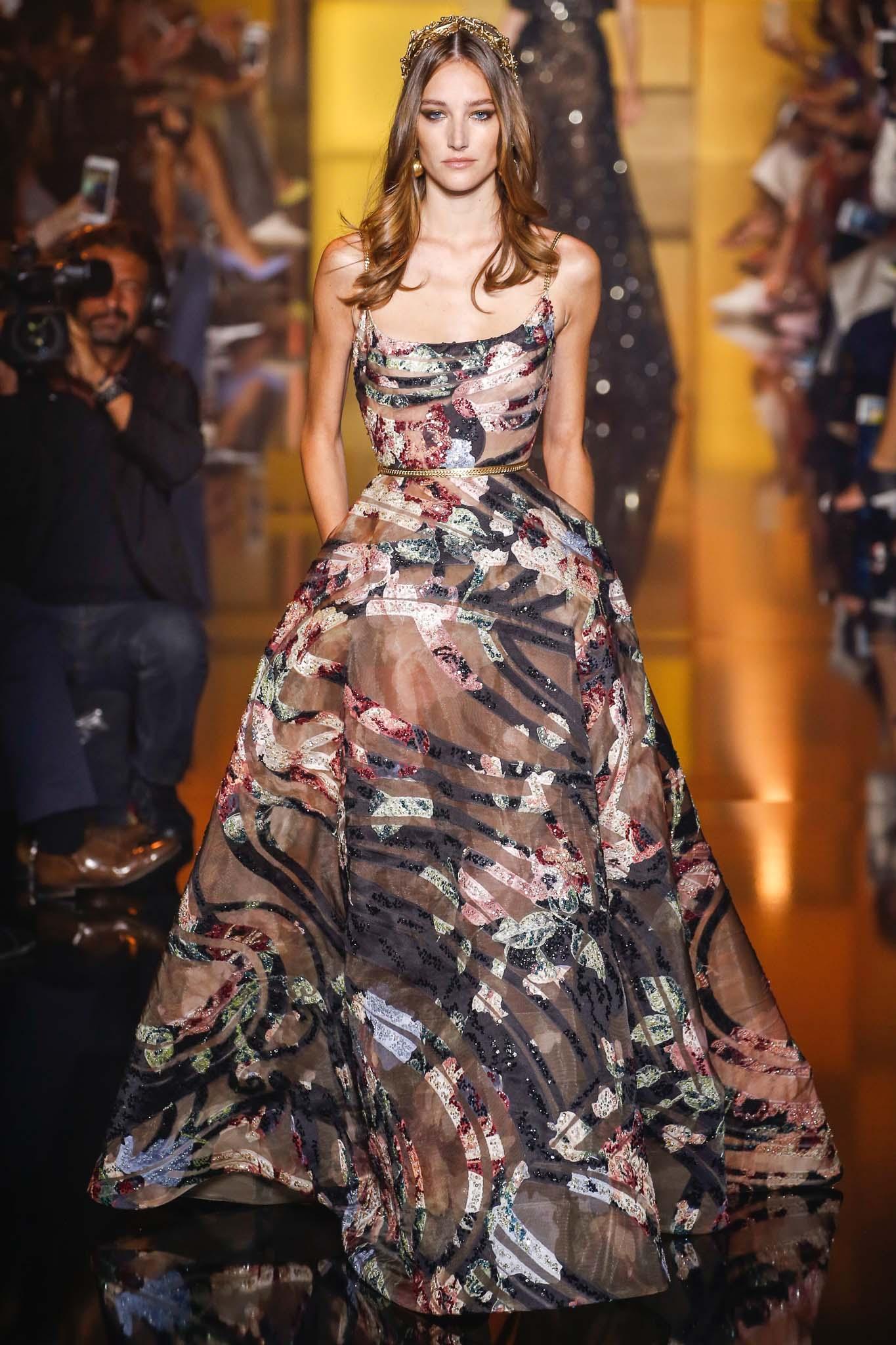 بالصور تصاميم ايلي صعب , تشكيله من الفساتين لايلى صعب 6086 11