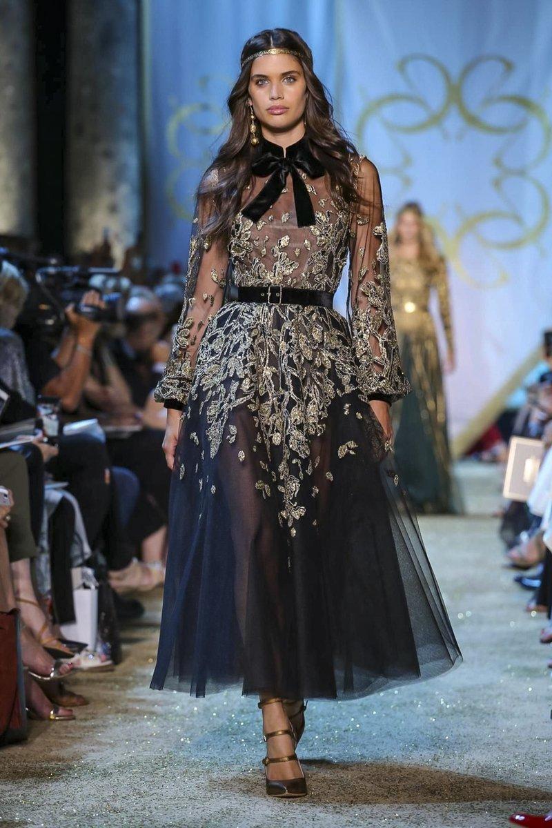 بالصور تصاميم ايلي صعب , تشكيله من الفساتين لايلى صعب 6086 12