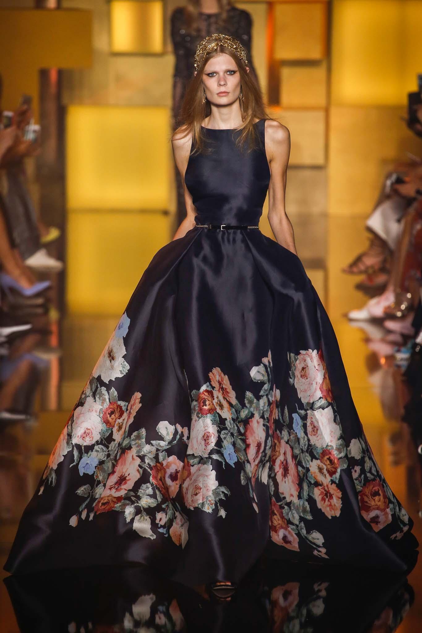 بالصور تصاميم ايلي صعب , تشكيله من الفساتين لايلى صعب 6086 8