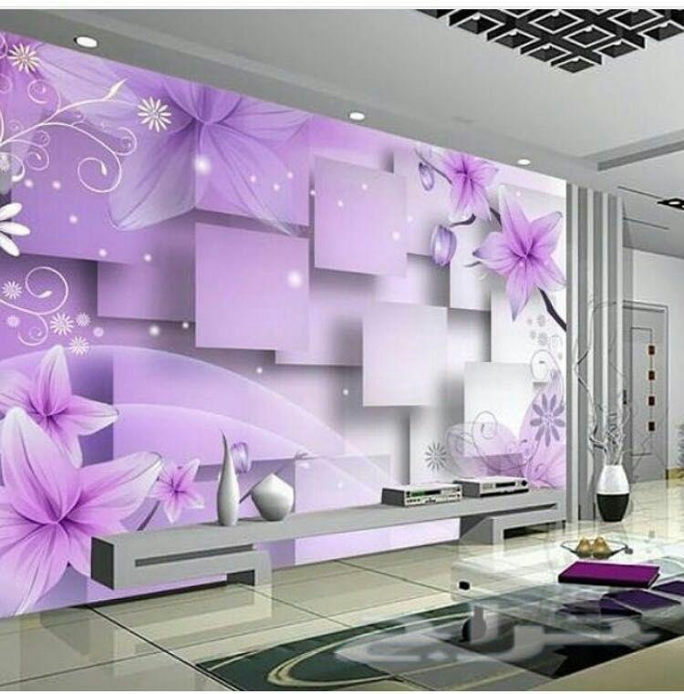بالصور ورق جدران ثلاثي الابعاد , احلى تشكيله من ورق الجدران ثلاثى الابعاد 6217 2