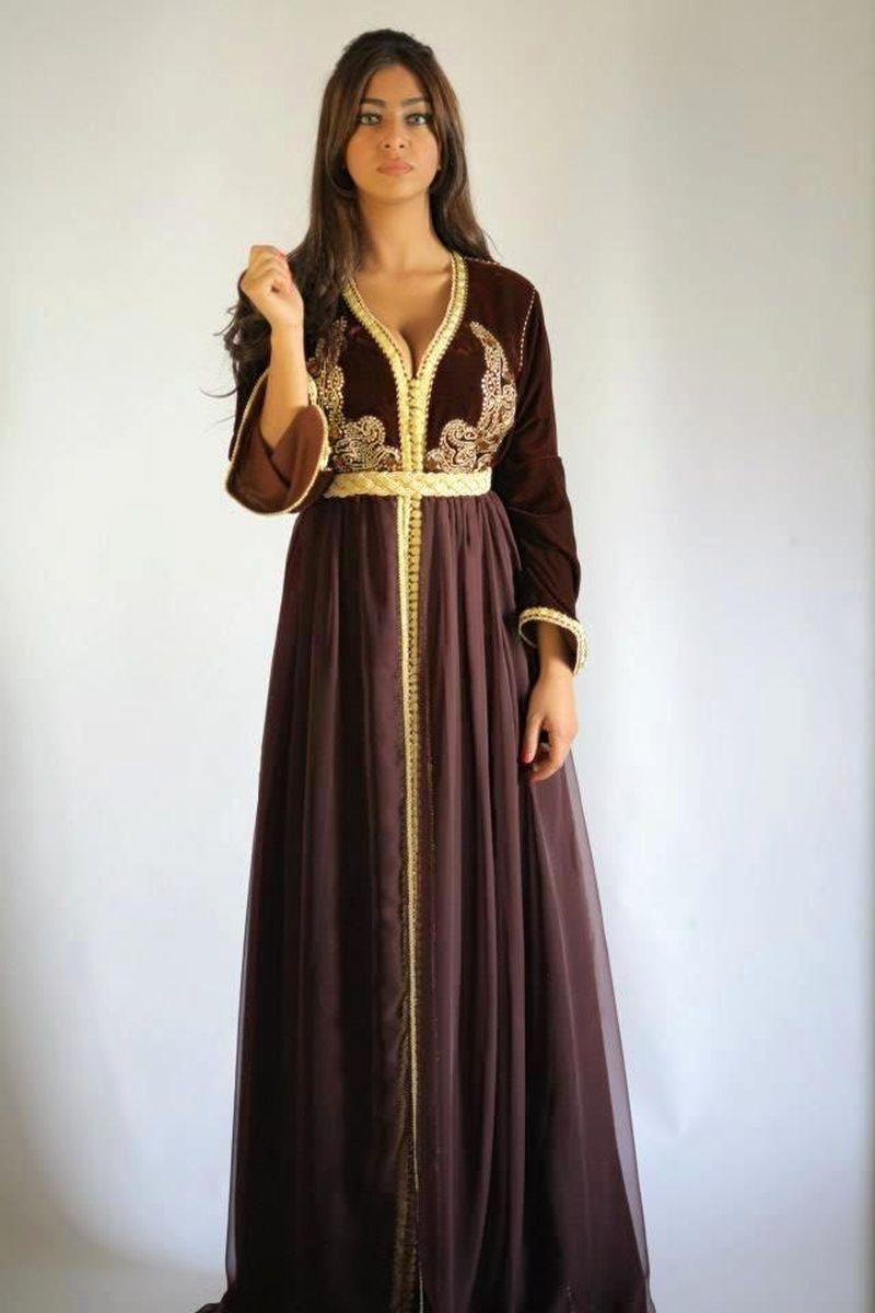 بالصور جلابيات مغربية , اجمل الجلابيات المغربيه 633 2