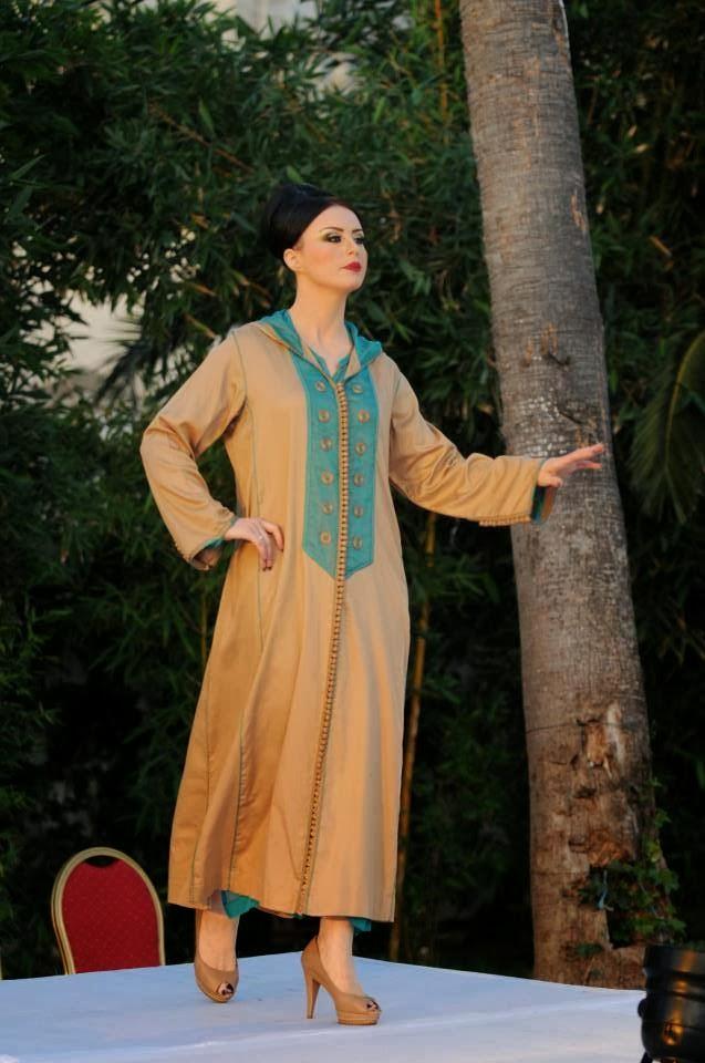 بالصور جلابيات مغربية , اجمل الجلابيات المغربيه 633 5