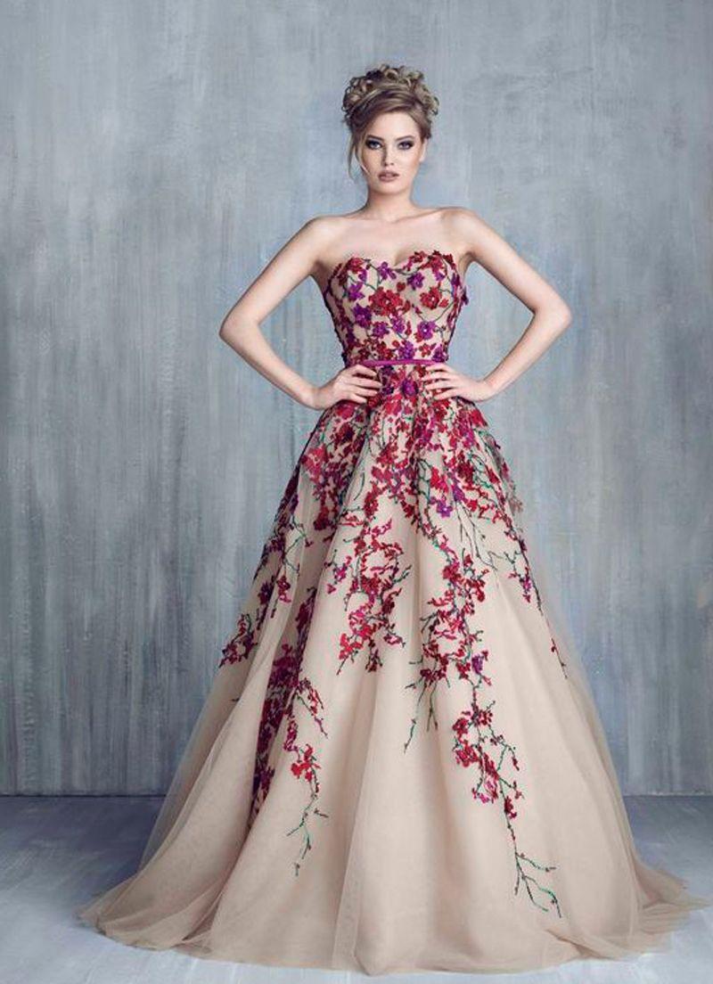 بالصور احلى فساتين , ااجمل وارق الفساتين 640 7
