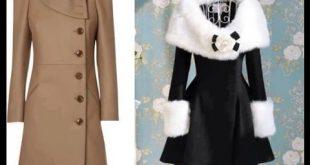 صورة ملابس شتوية للمحجبات , اروع تصاميم للملابس الشتويه للمحجبات