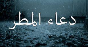 صور دعاء المطر , فضل دعاء المطر