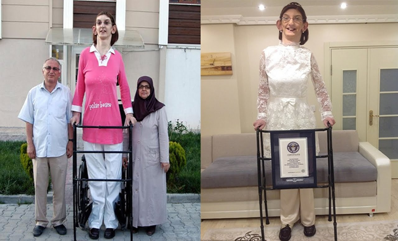 بالصور اطول امراة في العالم , من هي اطول امراءه في العالم ومعلومات عنها 123 2