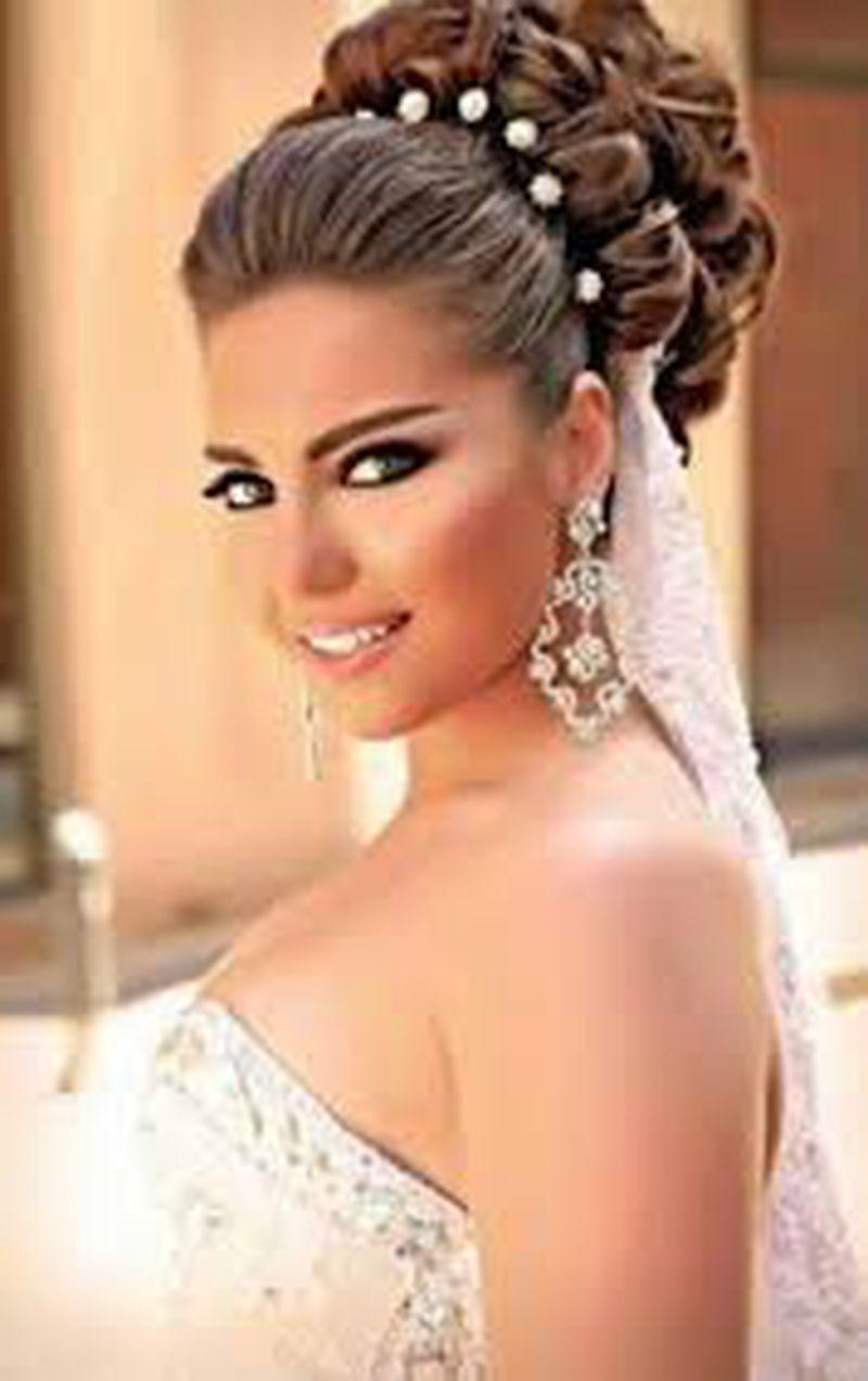 بالصور تسريحه عروس , اجمل تسريحات العروس 3563 12