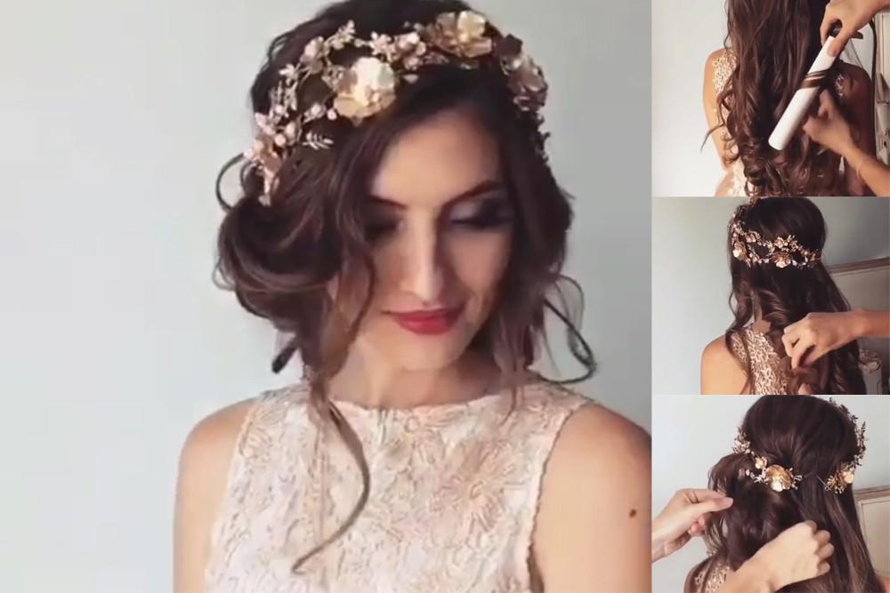 بالصور تسريحه عروس , اجمل تسريحات العروس 3563 4
