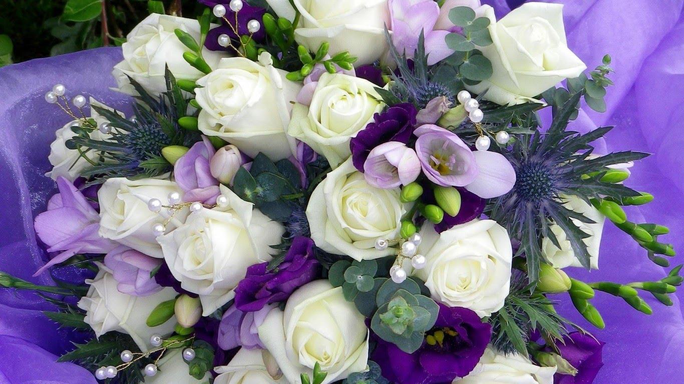 بالصور بوكيه ورد ابيض , اجمل باقات الورد الابيض 3661 11