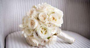صوره بوكيه ورد ابيض , اجمل باقات الورد الابيض