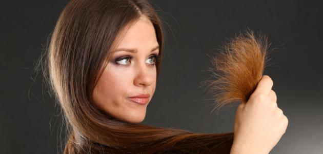 صور علاج اطراف الشعر , علاج تقصف الشعر بثواني معدودة