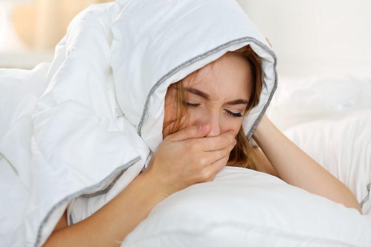 صور جفاف الحلق اثناء النوم , اعراض يجب الانتباه لها