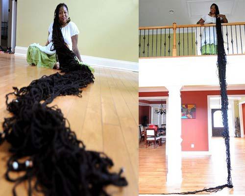 بالصور صور صاحبة اطول شعر في العالم , بنت لديها شعر معجزة 12650 6