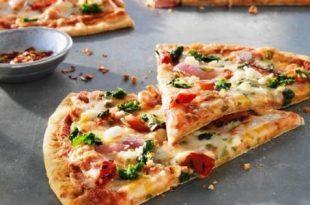 صور كيف عمل البيتزا في البيت , بيتزا المطاعم بالمنزل