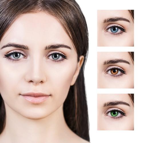 صورة عملية تغيير لون العين , تكاليف عملية تغير لون العين