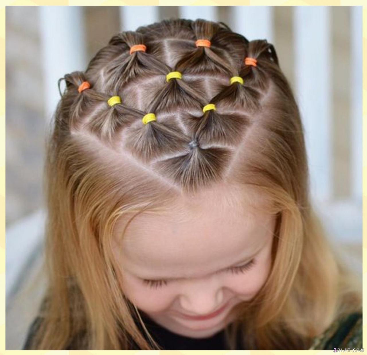 صورة تسريحات شعر الاطفال , تسريحات كيوت طفولية