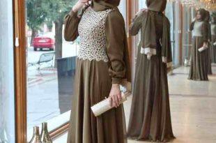 صور صور فستان محجبات , فساتين محتشمة وجميلة