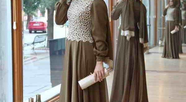 صورة صور فستان محجبات , فساتين محتشمة وجميلة