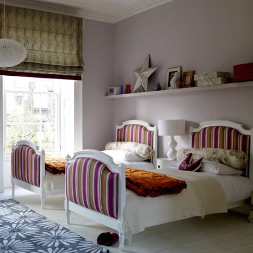 صورة غرف اطفال بسريرين , غرف طفولية حلوة