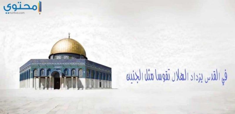 صور كلمات قصيدة في القدس لتميم البرغوثي , عبارات في حب القدس