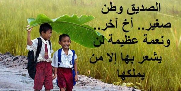 بالصور ابيات شعر قصيره عن الصديق , قصائد معبرة للصديق 12752 9