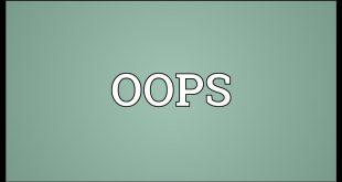 صور معنى كلمة oops , معاني الكلام بالانجليزي
