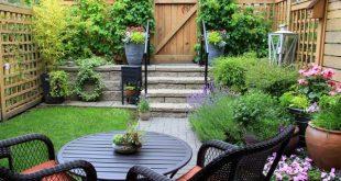 صور حديقة منزلية صغيرة , تصاميم حدائق بسيطة
