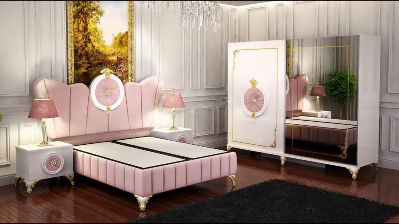 صورة غرف نوم مودرن 2019 كاملة , احلي غرف للعرائس