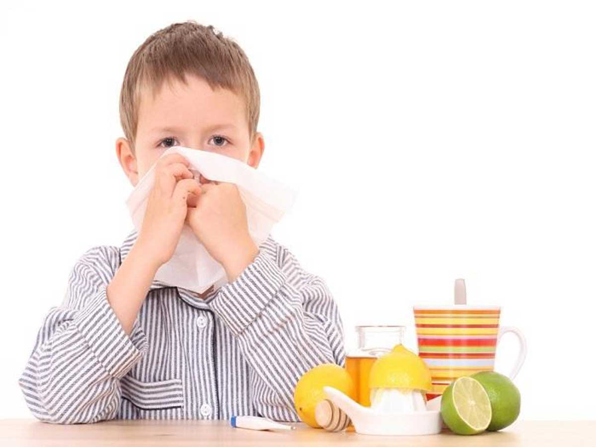 بالصور اعراض الانفلونزا عند الاطفال , اصابة الطفل بالانفلونزا 12941