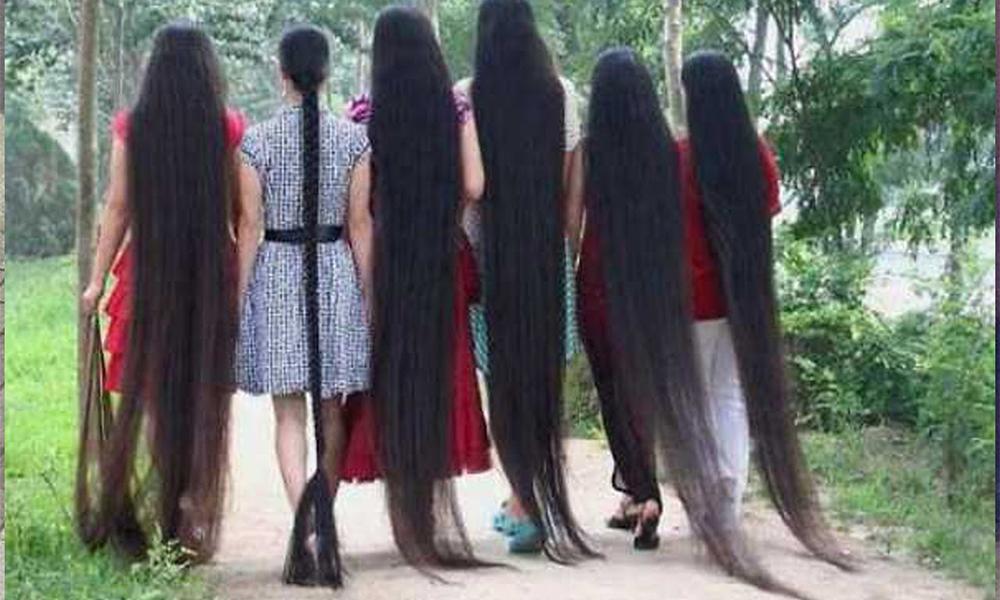 صور اطول شعر بالعالم , صور شعر طويل