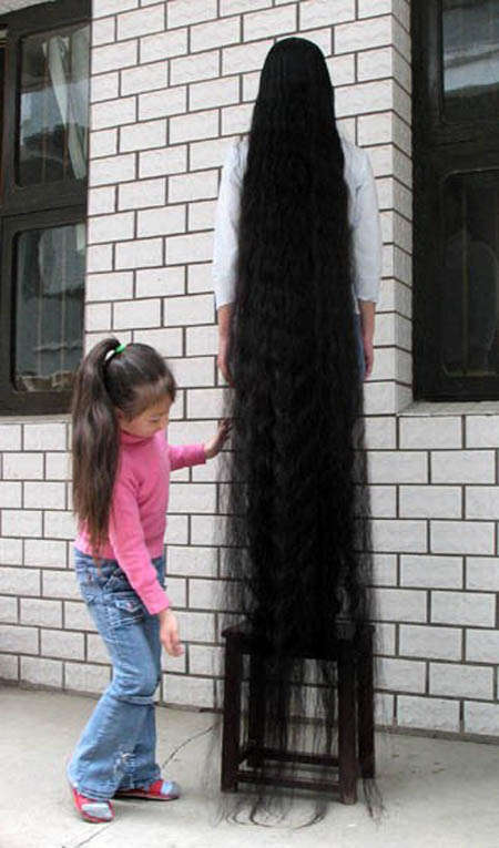 بالصور اطول شعر بالعالم , صور شعر طويل 12978 5
