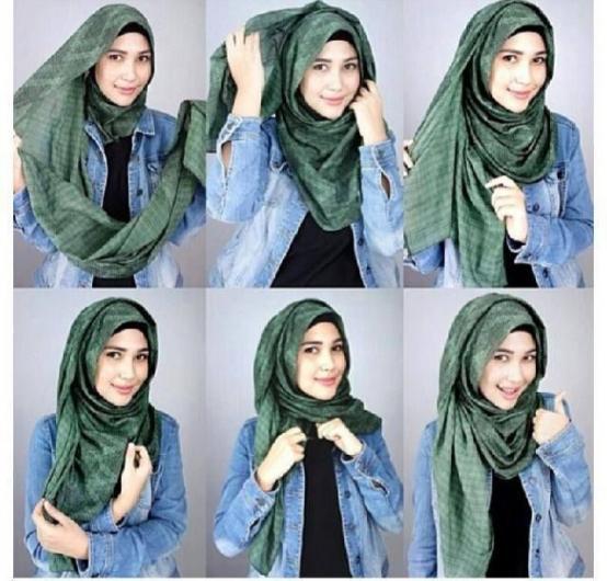 بالصور كيفية لبس الحجاب , طرق حديثة للحجاب 13054 1