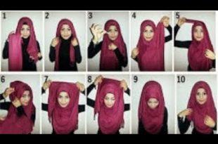 صورة كيفية لبس الحجاب , طرق حديثة للحجاب