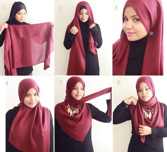 بالصور كيفية لبس الحجاب , طرق حديثة للحجاب 13054 2