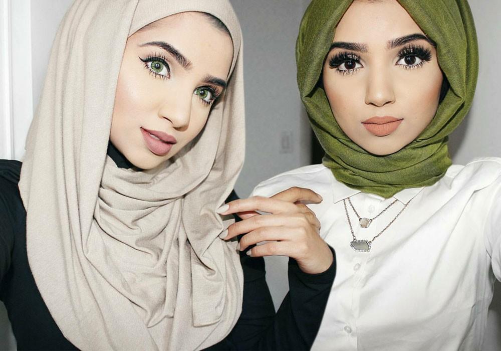 بالصور كيفية لبس الحجاب , طرق حديثة للحجاب 13054 4