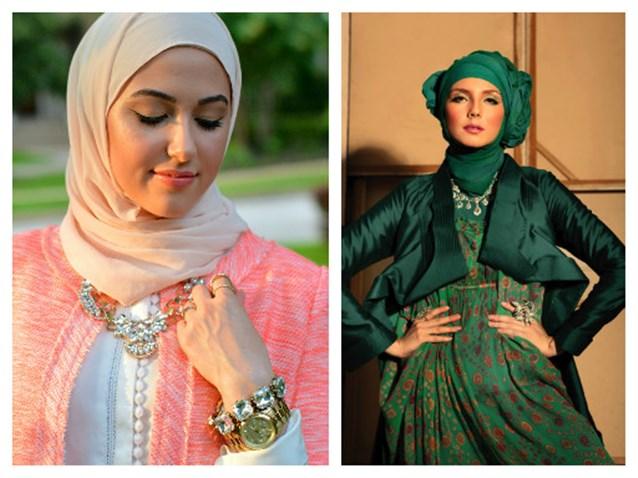 بالصور كيفية لبس الحجاب , طرق حديثة للحجاب 13054 6