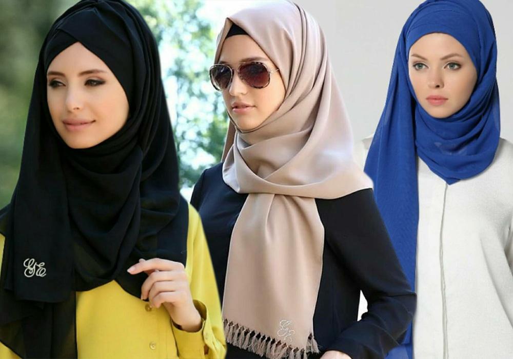 بالصور كيفية لبس الحجاب , طرق حديثة للحجاب 13054 8