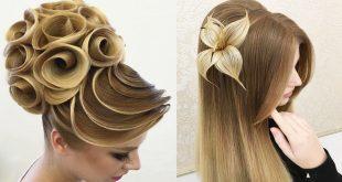 صور اجمل تسريحة شعر في العالم , احدث فورمات الشعر الحريمي