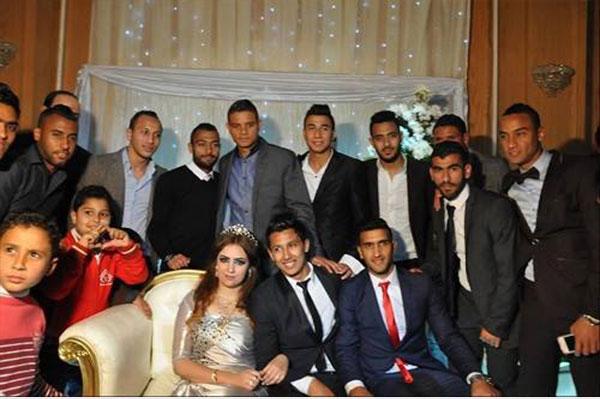 صورة صور فرح عمرو جمال , اجمل الصور لفرح عمرو جمال وعروسه ولعيبة المنتخب الوطني