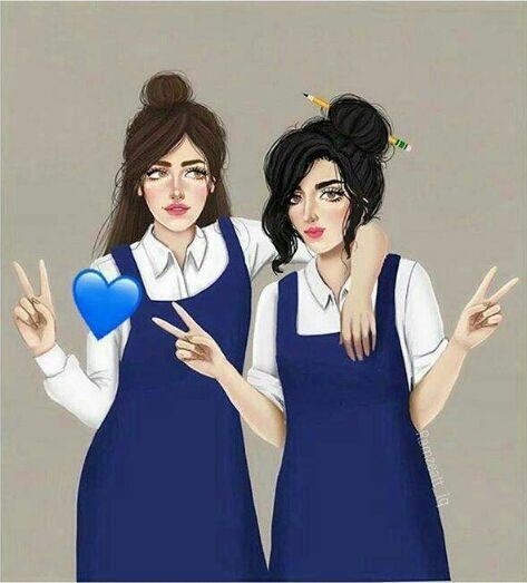 بنات المدرسه رمزيات لفتيات المدرسه معنى الحب