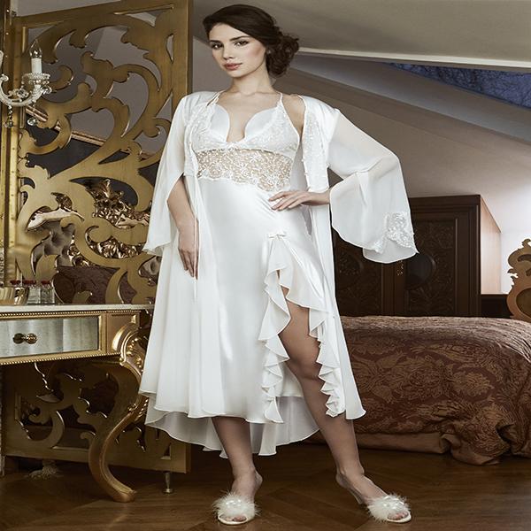 صورة قمصان نوم للعرايس , موديلات لبس نوم للعروس